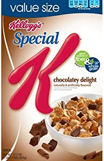 Kellogg`s, Special K, Chocolatey Delight Cereal, 16.5oz Box (Pack of 4)