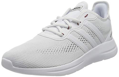 adidas Herren LITE Racer RBN 2.0 Running Shoe, FTWWHT/FTWWHT/CBLACK, 43 1/3 EU