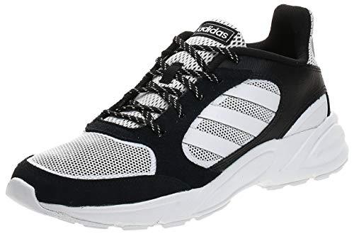 Adidas 90s VALASION, Zapatillas para Correr Hombre, Core Black/FTWR White/FTWR White, 44 EU ⭐
