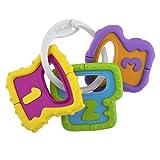 Chicco- Baby Senses Line Big & Small Sonajero Llaves Fáciles de Agarrar, Multicolor, 250 ml (00005953000000)