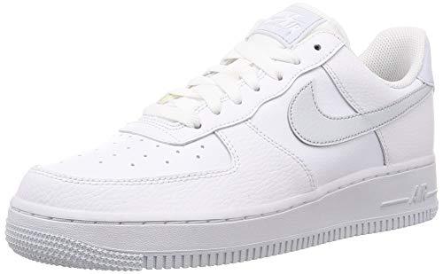 Nike Air Force 1 '07 SU19, Zapatillas de Baloncesto Hombre, Multicolor (White/Pure Platinum/Metallic Silver 000), 47 EU