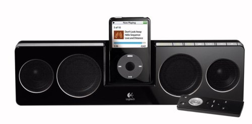 Logitech Pure-Fi Anywhere Compact Speakers for iPod (Black)