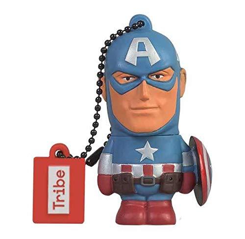 Tribe Disney Marvel Avengers Captain America - Memoria USB 2.0 de 16...