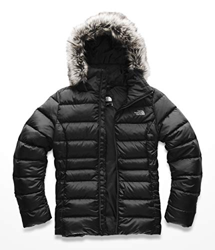 The North Face W Gotham JKT II Insulated Down Femme, TNF Black, FR : S (Taille Fabricant : S)