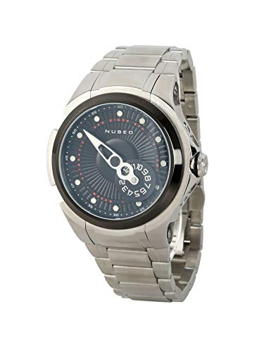 NUBEO Reloj automático para hombre Satellite 2.0 Limited | Reloj de hombre | Automático | Plateado