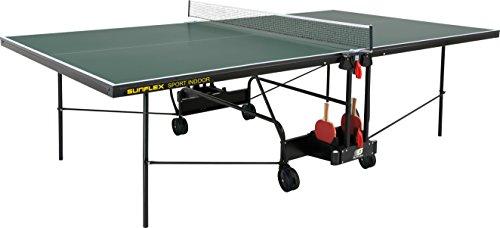 sunflex Tischtennisplatte Sport Indoor, grün