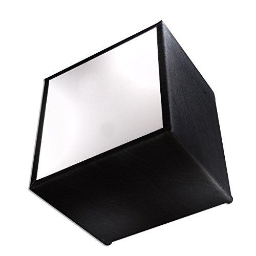 Zebra y Art Design A1061Mesa, Piel sintética, Color Negro, 38x 38x 40cm