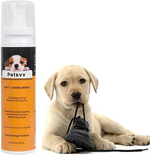 Stop Spray para el adiestramiento de Perros y Gatos Anti-masticadores Stop Dogs Repelente Spray Interior Exterior 120 ML