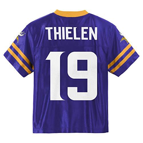 Adam Thielen Minnesota Vikings #19 Purple Youth Home Player Jersey (X-Large 18/20)