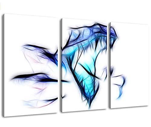 Dinosaurier Dreiteilige Malerei Auf Leinwand Bilder Kunstdruck Auf Wand Bild Poster Rahmenlose Hauptdekoration