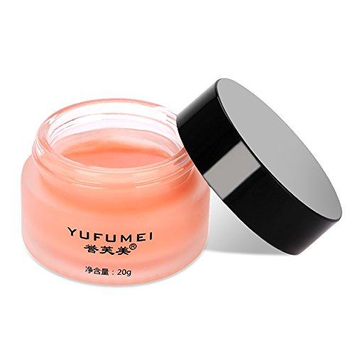 Masque pour les Lèvres, 20g/Bouteille Crème de Soin des Lèvres Nuit Cerise Naturelle, Masque pour les Lèvres pour la Réparation de la Beauté Hydratante Anti Gercée