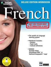 INSTANT IMMERSION FRENCH DELUXE WORKBOOK (DVD SOFTWARE)