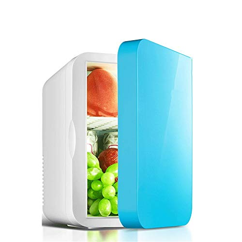 Mini-Nevera Mini refrigerador y Calentador eléctrico refrigerador de 6 litros Refrigerador portátil...