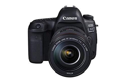 Canon EOS 5D Mark IV + EF 24-105mm f/4L IS II USM Kit fotocamere SLR 30,4 MP CMOS 6720 x 4480 Pixel Nero