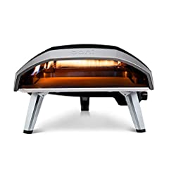 """BIG: Ooni Pizza Ovens' largest pizza maker / gas oven size, perfect for family-size 16"""" pizzas, meat and so much more. SUPER-HOT: Reaches authentic pizza oven temperatures of up to 923°F (500°C) on a 16 inch pizza stone. CONVENIENT: Just connect this..."""