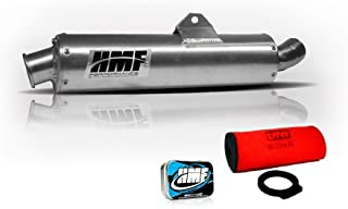 HMF Yamaha Grizzly 660 2002-2008 Slip On Exhaust Muffler & Jet Kit UNI Filter