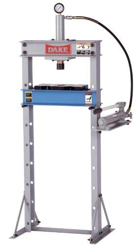 Great Deal! Dake F-10 Model Manual Utility Hydraulic Floor Press, 10 Ton Capacity, 24 Length x 28 ...