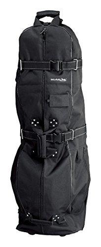 Golf 1557 Travelcove DeLuxe Version schwarz f�r Golftaschen und Golfschl�ger Golf Reisetasche