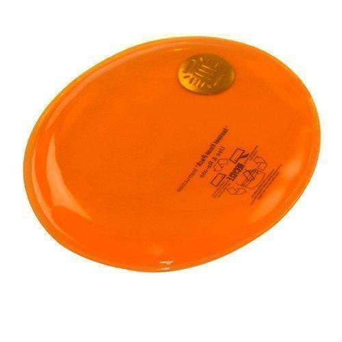 EBuyGB - Scaldamani Istantaneo Riutilizzabile In Gel, Uomo, 1209129, Arancione Ovale, Taglia Unica