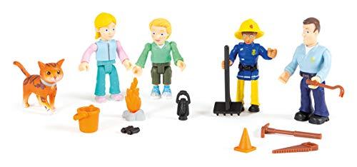 Smoby - Sam Il Pompiere - Cofanetto da 5 o 10 Personaggi