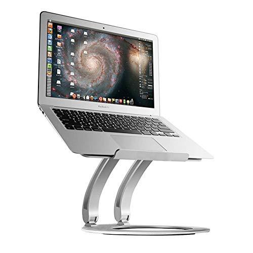 Laptop Stand Portable, Plegable Computer Cooler Stand Up Office Computer Table para Macbook, Apple, computadora portátil, Tableta