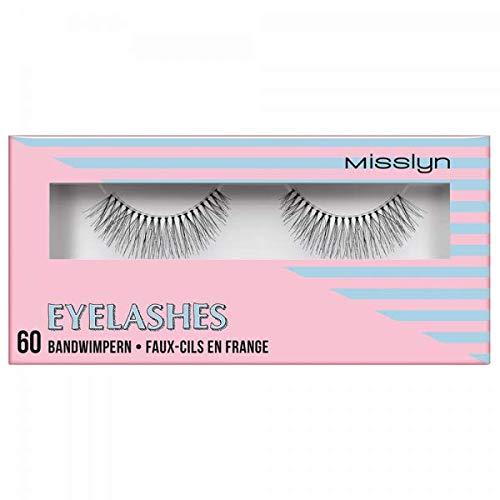 Misslyn Eyelashes Eye Am Crazy, 2 Stück