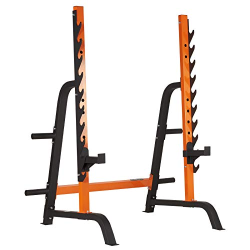 Mirafit M2 Semi Commercial Walk In Squat Rack with Spotter Bars