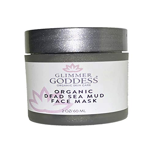 Organic Dead Sea Mud Acne Mask Best Pore Reducer & Minimizer for Oily Skin, Blackhead & Acne with Green Tea, Lavender & Chamomile - Purifies, Hydrates