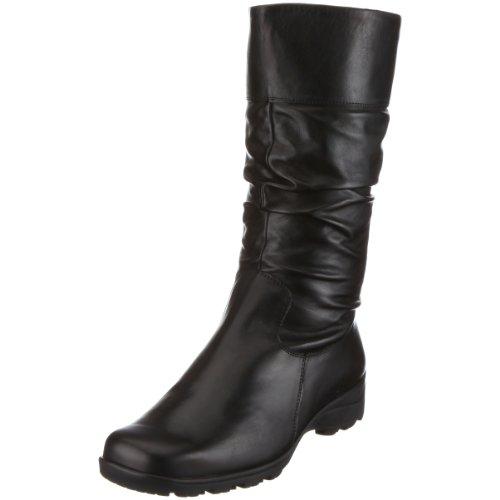 Semler Daniela damskie buty z półcholewką, czarny - Schwarz 001 Schwarz - 41 1/3 EU Weit