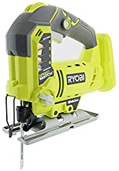 The Ryobi's One+ P5231 jigsaw - great for cutting curves