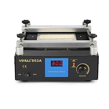 110V 853A 600W SMD PCB Preheater bga Rework Station Preheating Oven Station Infrared Preheating Station Hot Plate Preheating Oven Welder