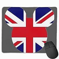 イギリスの旗 マウスパッド 25×30 大判 ノンスリップ 防水 ゲーミング おしゃれ マウスの精密度を上がる