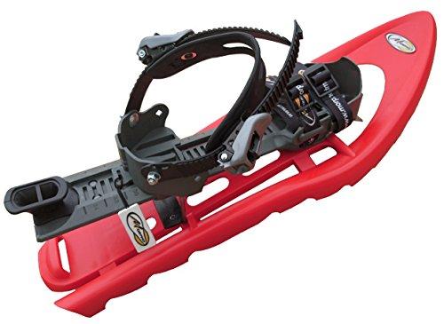 petit un compact MORPHO Outdoor-Trimove S SuperALP Light, paire de raquettes, double pointe, rouge / gris-petit