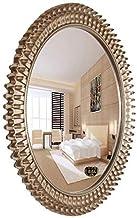 HUIHUOZI Exquisite Goods Round Wall Mounted Bathroom Mirror Bathroom Mirror European Makeup Mirror Bathroom Vanity Mirror ...