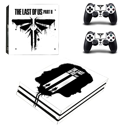 The Last of Us PS4 Pro Skin Stickers Vinyl Decal Cover for PlayStation 4 Pro Console & Controller (YSP4P-3795)