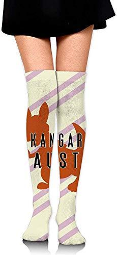 vbcnfgdntdy Knee High Socks No Kangaroos In Austria Women's Athletic Over Thigh Long Stockings