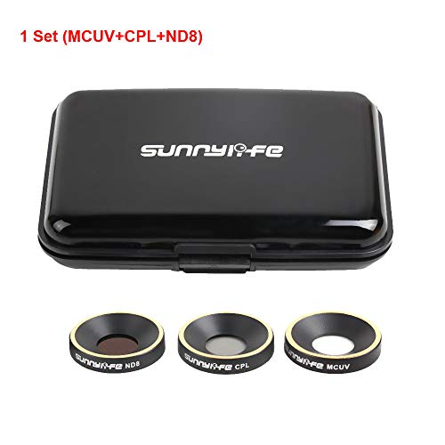 USHOT Drones / Quadcopter / Helicopter / Drone Accessories - Sunnylife ND8 CPL MCUV Lens Filter for Parrot ANAFI Drone Gimbal Camera Lens MCUV + CPL + ND8