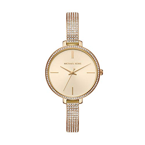Michael Kors Women's 'Jaryn Quartz Stainless Steel Casual Watch, Color:Gold-Toned (Model: MK3784)