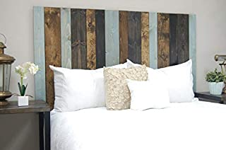 All Terrain Mix Headboard Full Size, Hanger Style, Handcrafted. Mounts on Wall. Easy Installation.