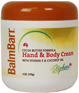 Balm Barr, Hand and Body Creme, Cocoa Butter - 6 oz (3 Pack)