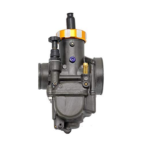 GZMYDF Carburador de la Motocicleta PE28 PE30 para Scooter Dirt Bike ATV Quad NSR150 NSR250 GY6 DIO Jog CG125 CG150 CB150 Usado para: 2T y 4 T Motor (Color : 30mm Blue)