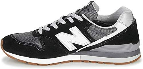 New Balance 996 Sneaker Hommes Schwarz/Weiss - 36 - Sneaker Low
