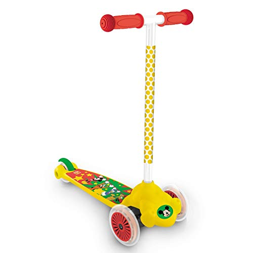 Mondo Mickey Mouse Twist and Roll Scooter