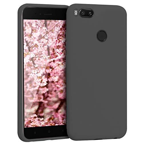 Ingen Funda Xiaomi mi A1-Carcasa Xiaomi mi A1 con Protectora Silicona Líquida Premium Tacto Suave, Silicona Suave Antirrayas y a Prueba de Golpes-para Xiaomi mi A1 Case 5.5Pulgadas- Negro