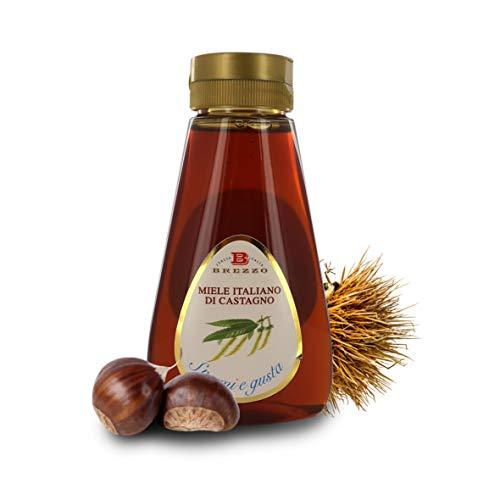 Brezzo Honig di Castanie Italienisch im Spender, auslaufsicher, 350 g