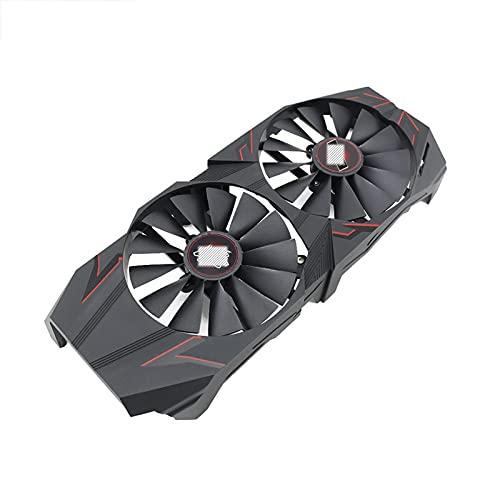Jinyouqin Ventilatore di schede grafiche 95mm per ASUS Cerberus per GeForce GTX1070TI A8G T129215SM FDC10M12S9-C DC12V 0.25A 4 Pim
