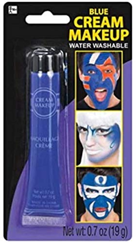 Amscan 840953 Blue Cream Makeup Costume Accessory   1 Piece, 6.5' x 3.5'