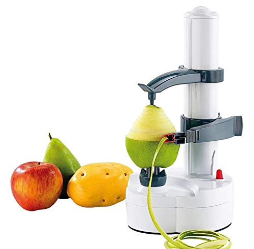 HJQL White Automatic Peeling Machine,Stainless Steel Electric Fruit And Vegetable Peeler