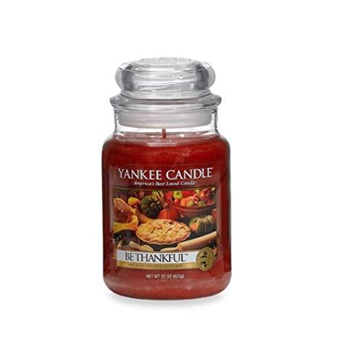 Be Thankful - 22 Oz Large Jar Yankee Candle