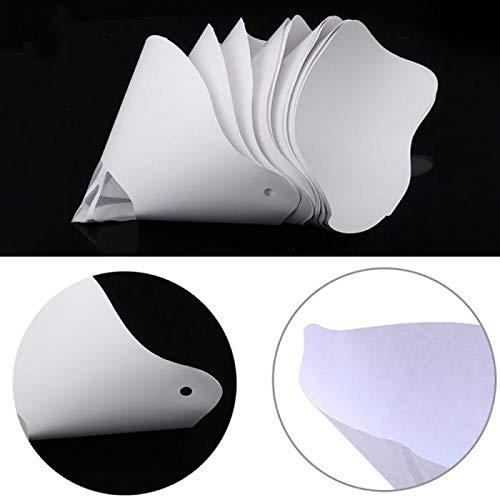 10 filtros de papel grueso de resina embudo para impresora 3D de Anycubic Photon SLA UV